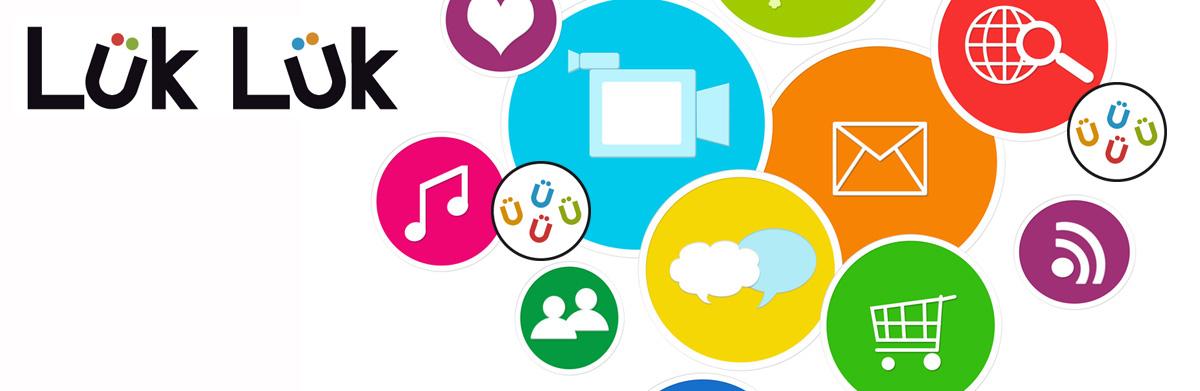 LukLuk è una piattaforma software Web 2.0, per le APPs Smartphone e Tablet che unisce funzionalità social e business.